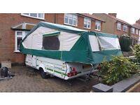 6 Berth Pennine Pathfinder 600 DL folding camper / trailer tent 2003