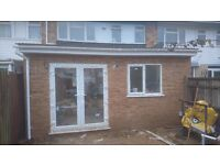 Kitchen extension, renovation of houses, flats, offices. Stairs, floors, painting & decorating