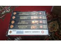 THE DIRTY HARRY COLLECTON ON VHS TAPE
