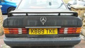 Rare Mercedes Benz 190e Zender