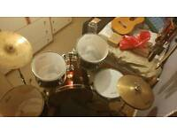 Stagg Drum Set (with free pads)