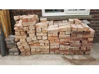 reclaimed imperial red bricks