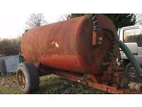 Tractor Vacuum Tanker £1200 plus vat £1440