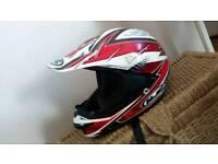 Motorcross helmet size LARGE