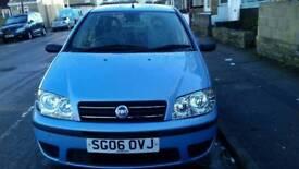 2006 FIAT PUNTO 1.2 BLUE 5 DOORS HATCHBACK LOW MILEAGE +NOT CORSA YARIS