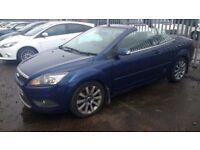 ford focus cc 2 convertible turbo diesel 2008 58 plate