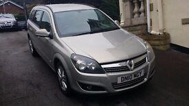 2010 / 10 PLATE Vauxhall Astra Estate Car 1.6 i 16v SXi 5dr