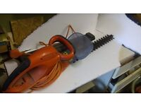 Flymo Electric hedge trimmer. Cable, guard, in full working condition