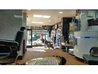 barber shop for sale/ £35000.