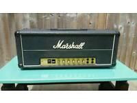 Marshall Mk 2 vintage super bass head and flight case