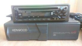 Kenwood cd player and multichanger