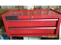 red sykes pickavant lockable tool box