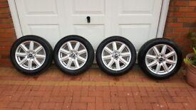 "Genuine 16"" Mini Cooper Alloy Wheels with Tyres"