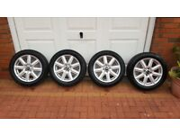 "Genuine 16"" Mini Cooper Alloy Wheels with Tyres"