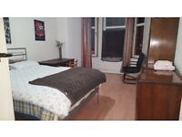 bright spacious double bedroom city center