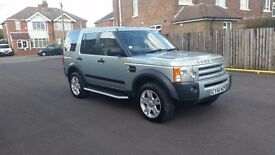 2006 LANDROVER DISCOVERY 3 TDV6 S AUTO 10 MONTHS MOT SERVICE HISTORY 2 KEYS 124,000 MILES