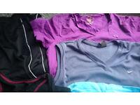 Jogging pants + 4 tops Nike Puma