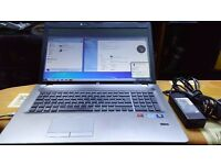 "HP Probook 4730s Laptop, i5, win 10 pro, 600gb hdd, 8gb RAM, 17.3"", webcam, fingerprint reader"