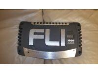 CAR SUBWOOFER AMPLIFIER FLI 1000 WATT MONO 1 CH MONOBLOCK AMP CLASS AB DESIGNED FOR SUB WOOFER VIBE