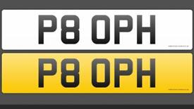 Private plate P8 OPH