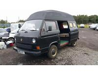 1985 vw t25 camper last owner for 18 years !