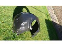Jaguar X-Type front wheel arch liner - driver side