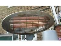 Electric garden heater