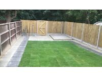 All landscaping , fencing driveways patio slabs turfing levelling much more