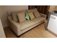 two two seater sofas - pair