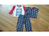 Boys pj's size 3-4 years, hat & slipers
