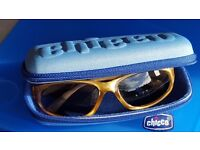 Chicco Sunglasses & Hard Case / Boy Baby Toddler 12 Months+