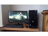 High Spec Ultra Fast Quad Core HP Gaming PC i5-3740 Windows 10 8GB RAM 1TB Hard Drive