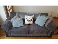 Extremely Comfy DFS 3 Seater Grey Sofa - smoke & pet free home