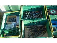Job lot tools and electrical equipment