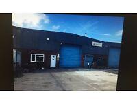 Large Warehouse to let St Helens. Skip Yard, Haulage Yard, Metal/wood fabricators