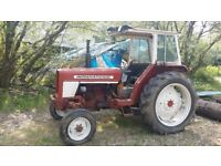 1978 INTERNATIONAL 424 TRACTOR PLUS SOME EQUIPMENT