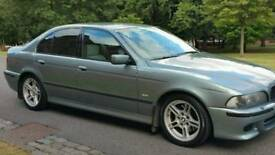 BMW E39 530D MSPORT SATNAV 2001