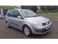 7 SEATER RENAULT GRAND SCENIC 1.6 MANUAL IN CLEAN CONDITION. LONG MOT & TAX. 2 OWNERS. HPI CLEAR