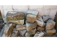 Set of Portland stone