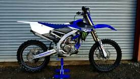 2016 YAMAHA YZF 250 68HRS FROM NEW SWAP/PX