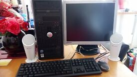Dell Optiplex 760 in excellent condition goes with Samsung monitor keyboard and mouse.