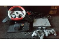 PS1 2 controls and steering wheel