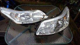 Citroen C4 headlights Pair