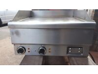 KEBAB TAKEAWAY PUB HOBART GRIDDLE, FLAT GRILL 60CM 3 PHASE ELECTRIC TABLE TOP