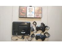 Sega Megadrive Bundle with 2 controllers 3 games (Tested & Working) Great Birthday Christmas Present