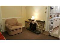 Freshly decorated/refurbished & furnished, 2 bedroom house, driveway, front & back garden EH17 7NJ.