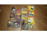 Happy Meal Toys. Furby, Mario, Minions, Adventure Time
