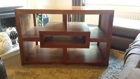 solid wood tv / entertainment unit
