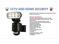 CCTV LED FLOODLIGHT COMBI UNIT SPOTLIGHT