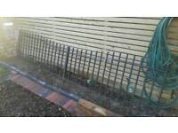 Fence Wrought Iron 3.4 mtrs